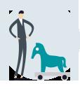 malvér - trójsky kôň