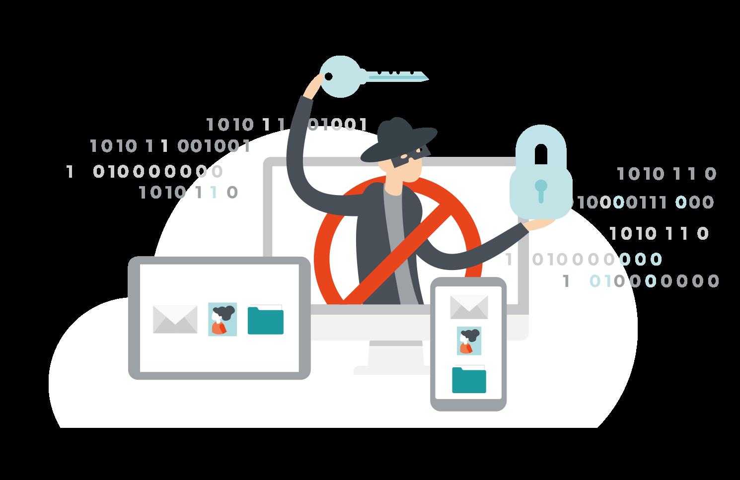Phishingový útok phishing