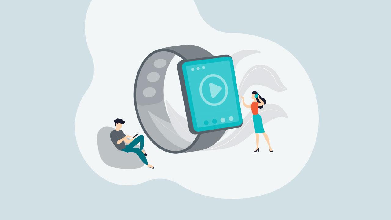 Nahladovy obrazok Smart hodinky