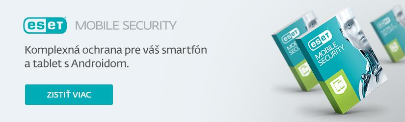 ESET Mobile Security produktový banner