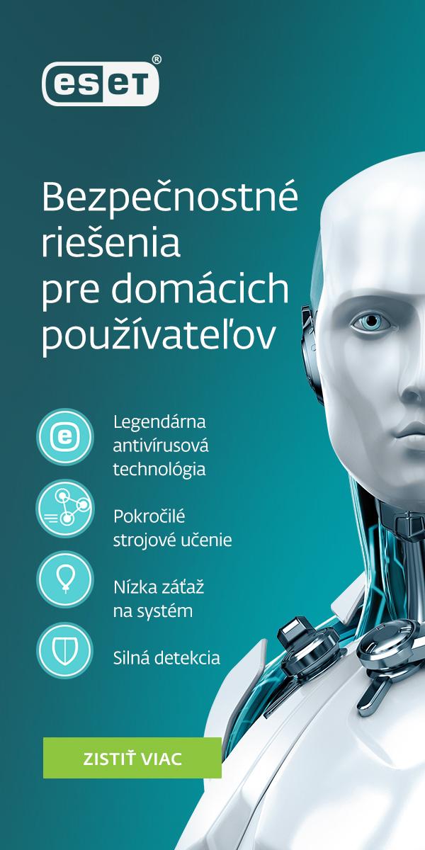 bezpečnostné riešenia ESET produktový banner