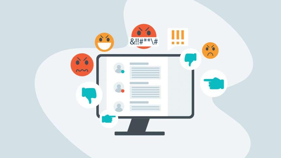 nenávisť na internete ESET